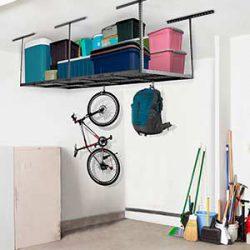 System półek garażowych