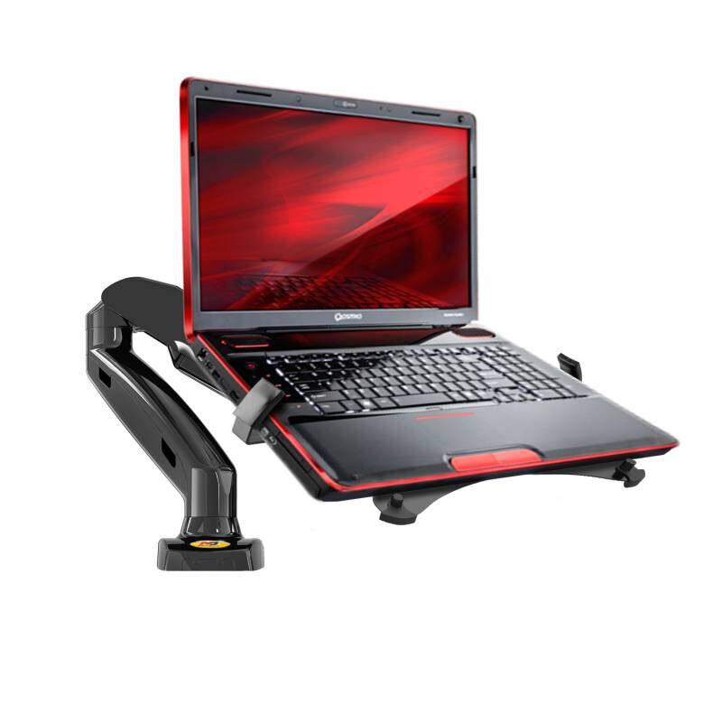 Uchwyt monitorowy F80 z podstawką pod laptop NBH3