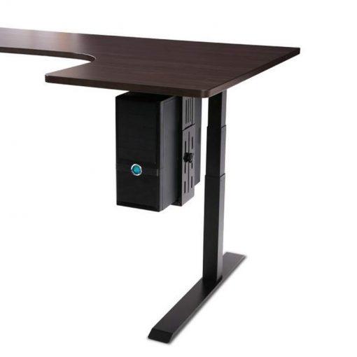 CH101 Uniwersalny obrotowy uchwyt do zawieszenia komputera pod biurkiem