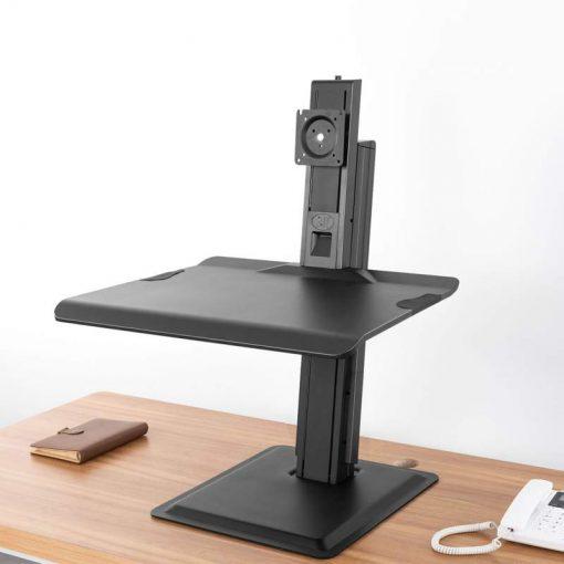 ST15 nabiurkowa stacja do pracy na stojąco i siedząco konwerter biurka z uchwytem na monitor