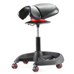 Siodło Biurowe krzesło obrotowe Horo-1 czarny