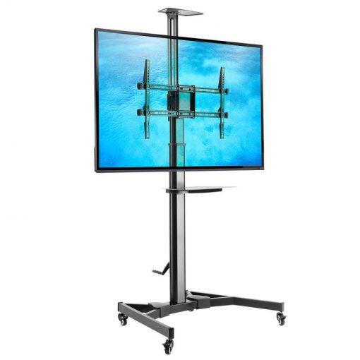 FN5000 mobilny stojak do telewizorów z regulacją wysokości na korbkę