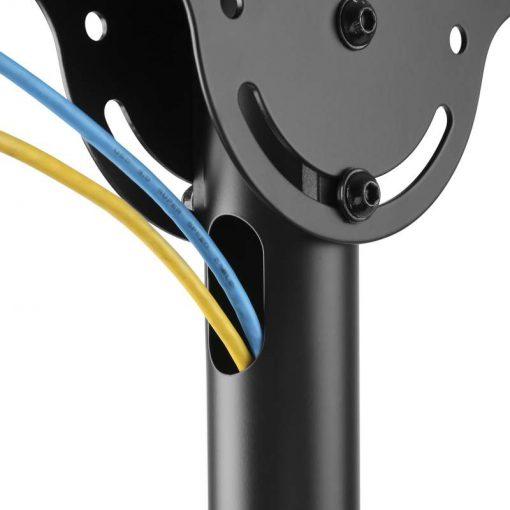 Uchwyt TV sufitowy T400 / T600 / T1410 / T1610 - system zarządzania kablami