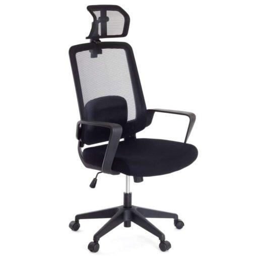 Ergonomiczny fotel biurowy AMO-70 z zagłówkiem