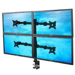 NF44 - biurkowy uchwyt na cztery monitory
