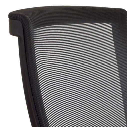 Ergosolid Nelo czarny - ergonomiczny fotel biurowy