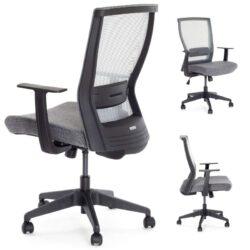Ergosolid Nelo szary - ergonomiczny fotel biurowy