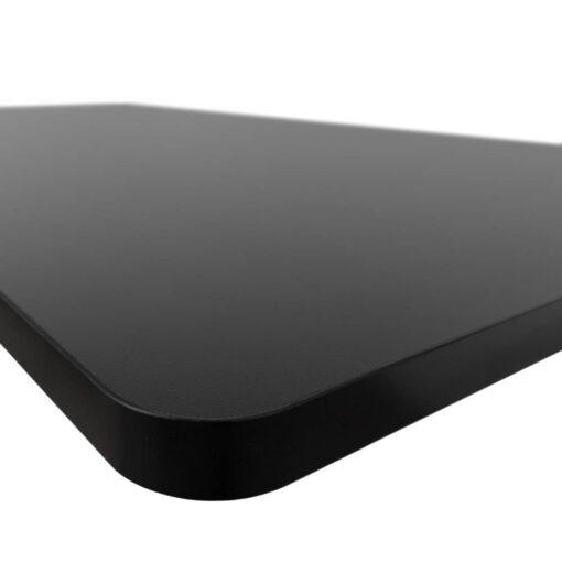 Blat 140x70 cm - czarny